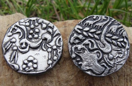 Belgae Tribes Replica Coins Belgiun Iron Age Gaul