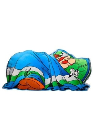 ASTERIX SLEEPING OBELIX, CUSHION, 74 CM