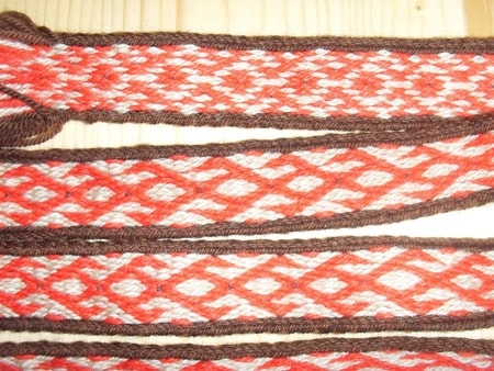 Dark Age tabletwoven braid, strap