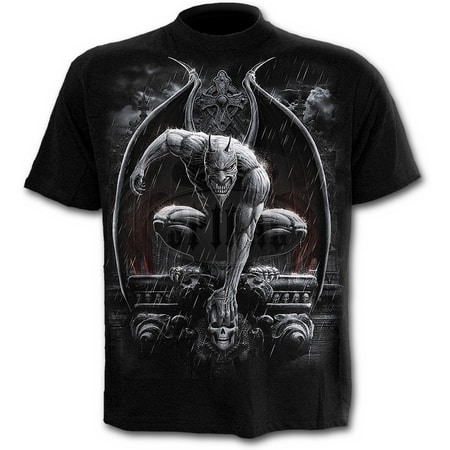 STONE GUARDIAN - T-Shirt Black