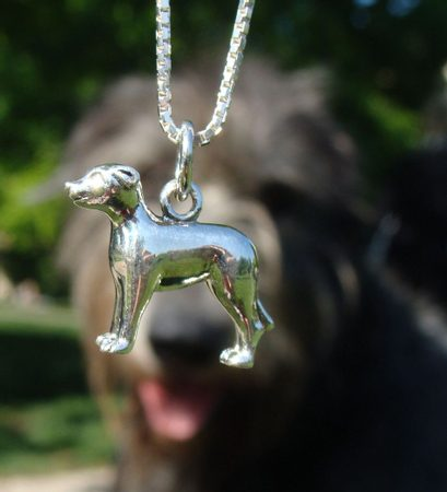 FIONN WOLFHOUND, silver necklace, Ag 925