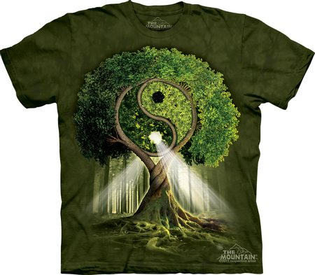 YIN YANG TREE, The Mountain, t-shirt
