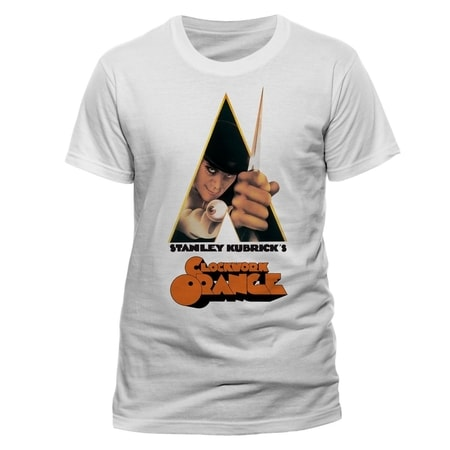 Clockwork Orange - Knife, Unisex T-shirt - White