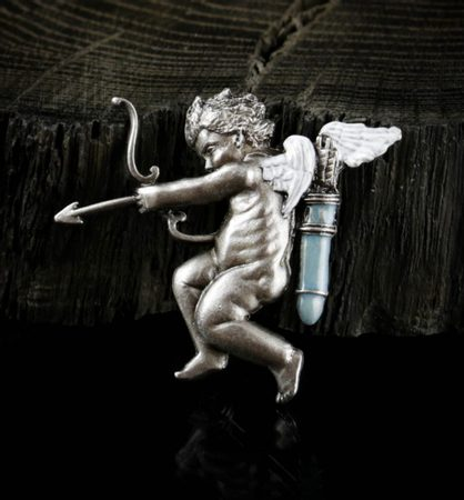 Cupid Angel, costume brooch