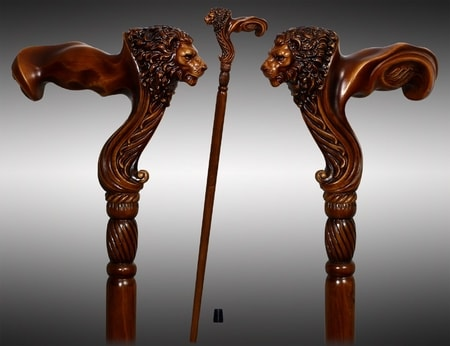 LION - Walking Stick, Cane