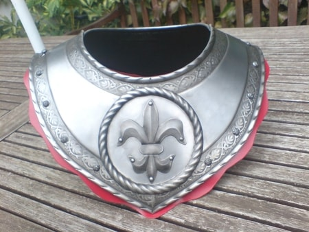 GORGET for the MORION HELMET