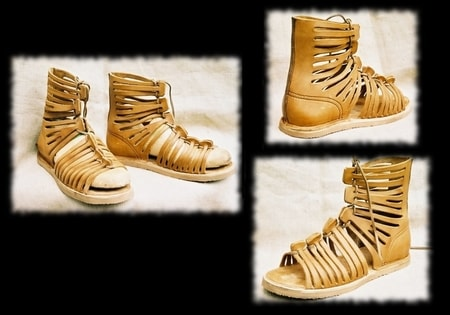 Ancient boots Celtic and Roman Shoes - wulflund com