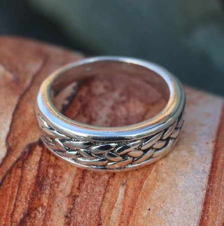 RIONA, Celtic Ring, silver