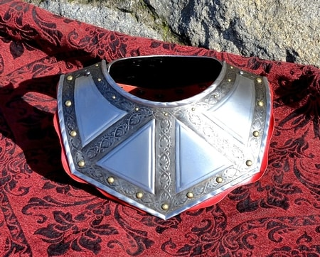 BAROQUE GORGET, THIRTY YEARS WAR