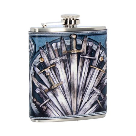 MEDIEVAL SWORD HIP FLASK 7OZ