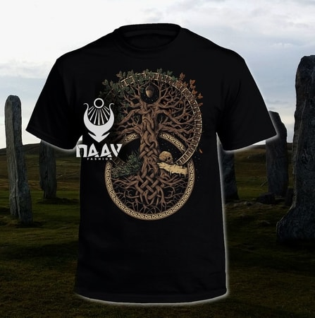 TREE OF LIFE, T-SHIRT, COLORED, NAAV