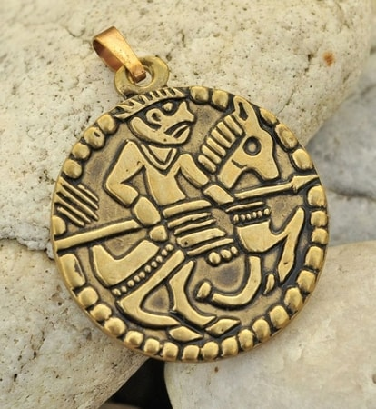 VIKING AMULET the rider