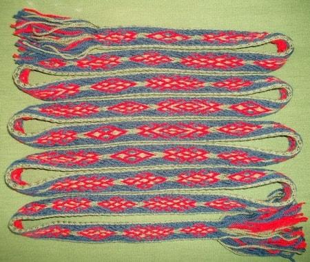 Hand Made Woven Belts - wulflund.com