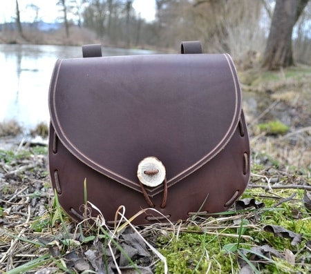 Historical Medieval Leather Bags