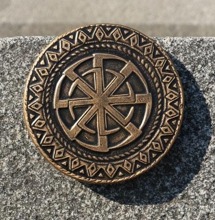 Kolovrat Magnet Plaque Symbol Of Vp