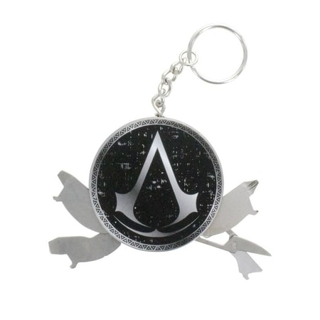 Assassin's Creed Keychain, 4 in 1 Multitool