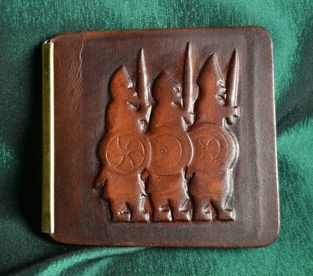 VIKING WARRIORS, leather wallet