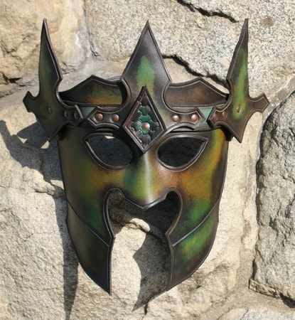 DARK LORD, LEATHER MASK