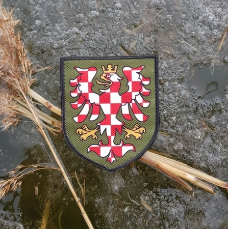 MORAVIA - coat of arms, Velcro Patch