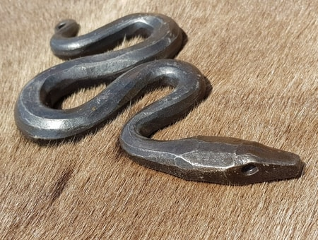 Forged Serpent, figurine