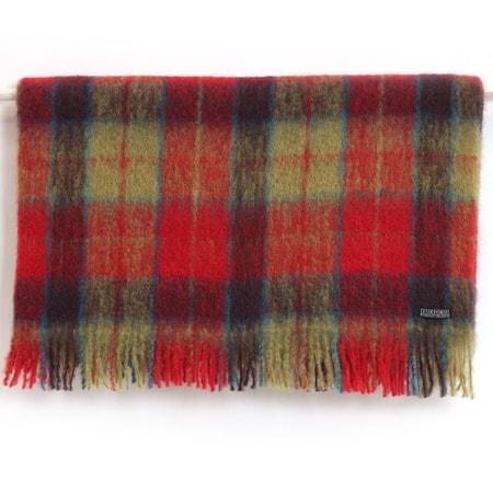 Luxury Mohair & Wool Throw | Mia Turquoise Blue | snuginteriors