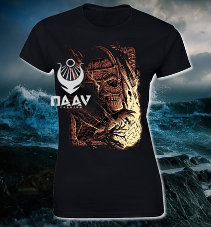 VIKING WARRIOR, Viking T-shirt, ladies