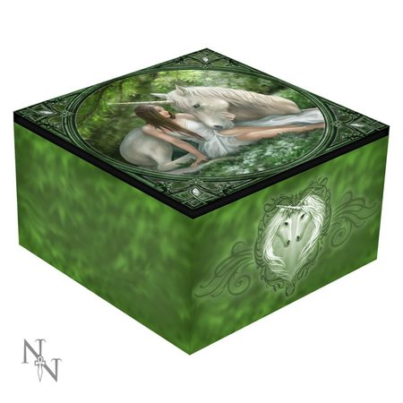 PURE HEART, ANNE STOKES, JEWELLERY BOX