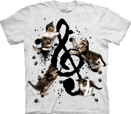 MUSIC KITTENS - T-Shirt - The Mountain