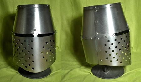 GREAT HELMETS BARREL HELM