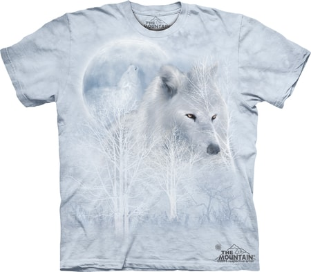 White Wolf Moon, The Mountain, t-shirt