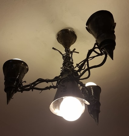 GOTHICA - Forged Chandelier