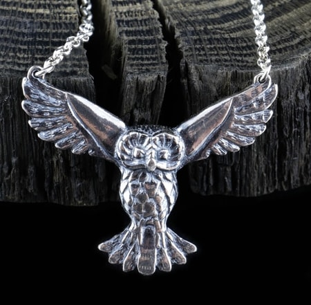 Owl Sterling Silver Jewellry