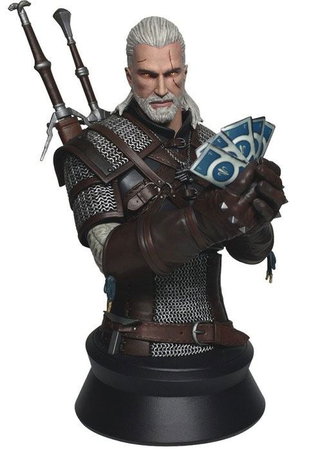 WITCHER 3: WILD HUNT, GERALT PLAYING GWENT, BUST
