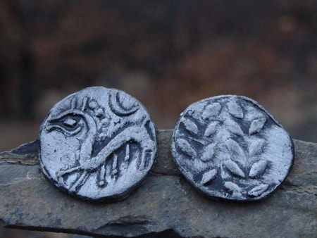 CELTIC COIN OF A SIMERING TYPE, REPLICA
