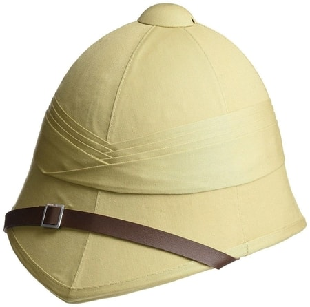 BRITISH PITH HELMET, SAND COLOUR