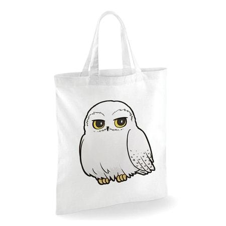 Harry Potter Cartoon Hedwig Tote Bag White Wulflundcom
