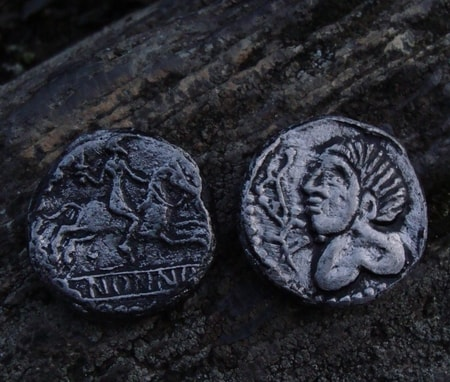 Celtic Tetradrachmas, replicas, Antic Coins, Gallo Roman Coins
