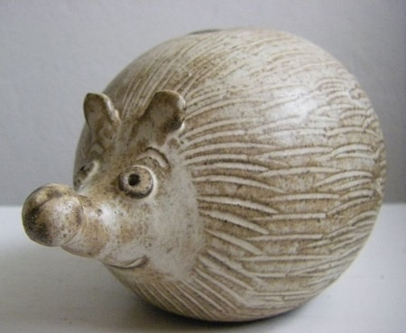 Hedgehog, ceramic moneybox