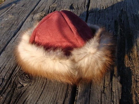 Basic Viking Hat - Re-enactor - Viking Caps with Fur