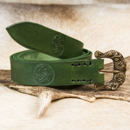 HALLBERG, Viking leather belt