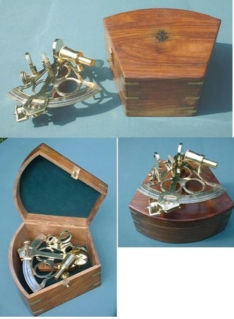 Brass Navy Sextants Navigation