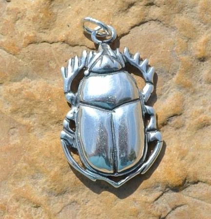 Sacred scarab beetle pendant wulflund sacred scarab beetle pendant aloadofball Gallery