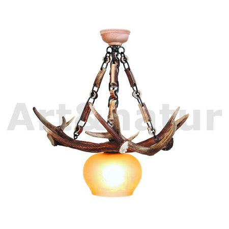CHANDELIER - DEER ANTLER