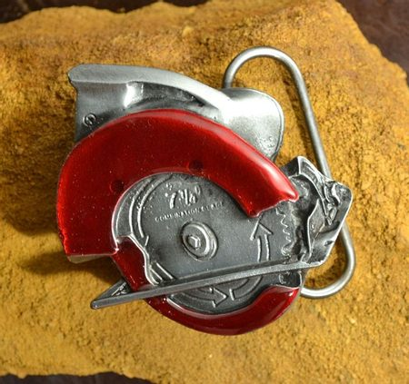 POWER SAW BELT BUCKLE