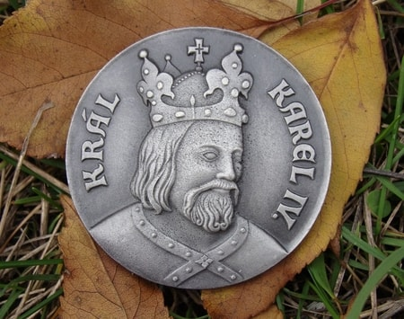 CHARLES IV, Holy Roman Emperor, commemorative coin