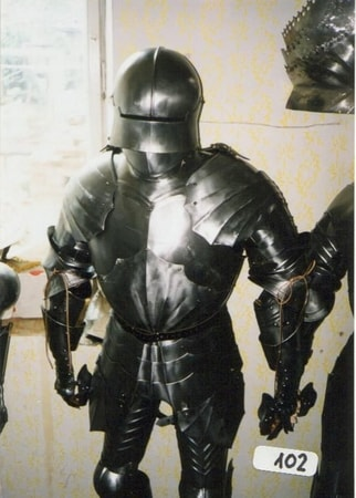 custom made suit of armour plate armor 15 mm wulflundcom