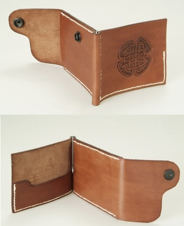 LEATHER CELTIC WALLETS