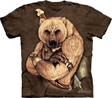 TRIBAL BEAR, The Mountain, t-shirt