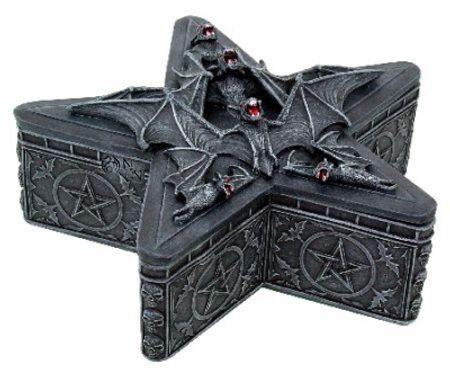 BAT AND THE PENTACLE, box