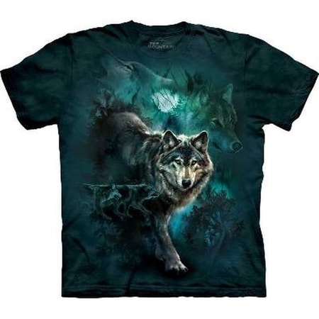 Night Wolves, The Mountain, t-shirt